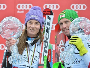 tina maze and marcel Hirscher