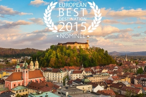 Ljubljana v boju za European Best Destinations 2015